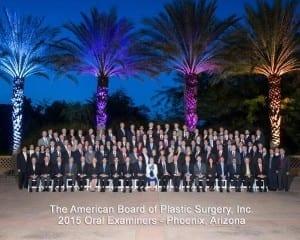 The American Board of Plastic Surgery, Inc. 2015 Oral Examiners - Phoenix, Arizona